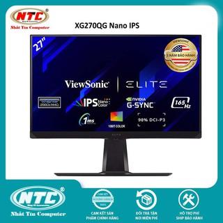 Màn hình gaming ViewSonic XG270QG 27 Nano IPS 2K 165Hz 1ms G-sync HDMI DP tích hợp loa ngoài (Đen) thumbnail
