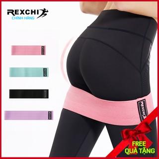 Dây kháng lực tập gym, kiểu dây kháng lực tập mông đùi, ngực, hàng dây mini band chính hãng Rexchi