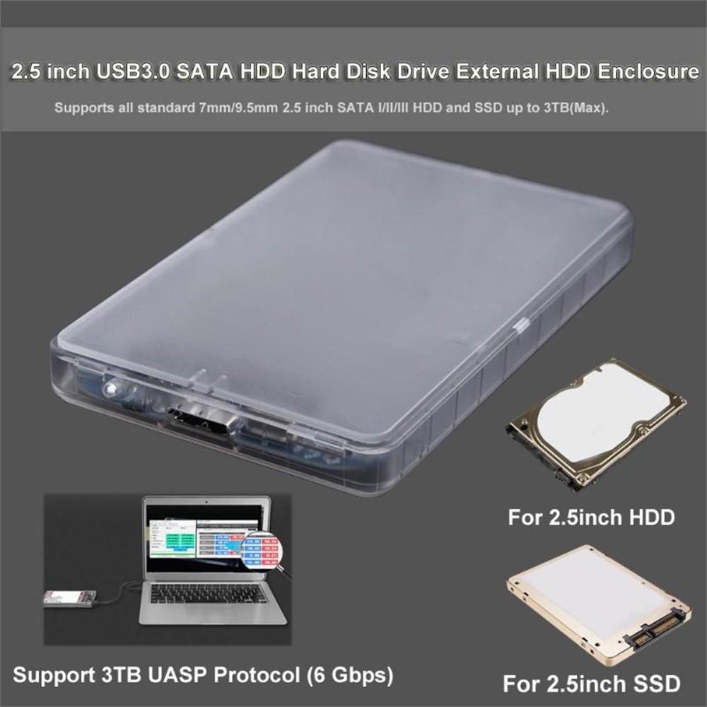 Case gắn ngoài dành cho ổ cứng di động SATA USB 3.0 2.5inch