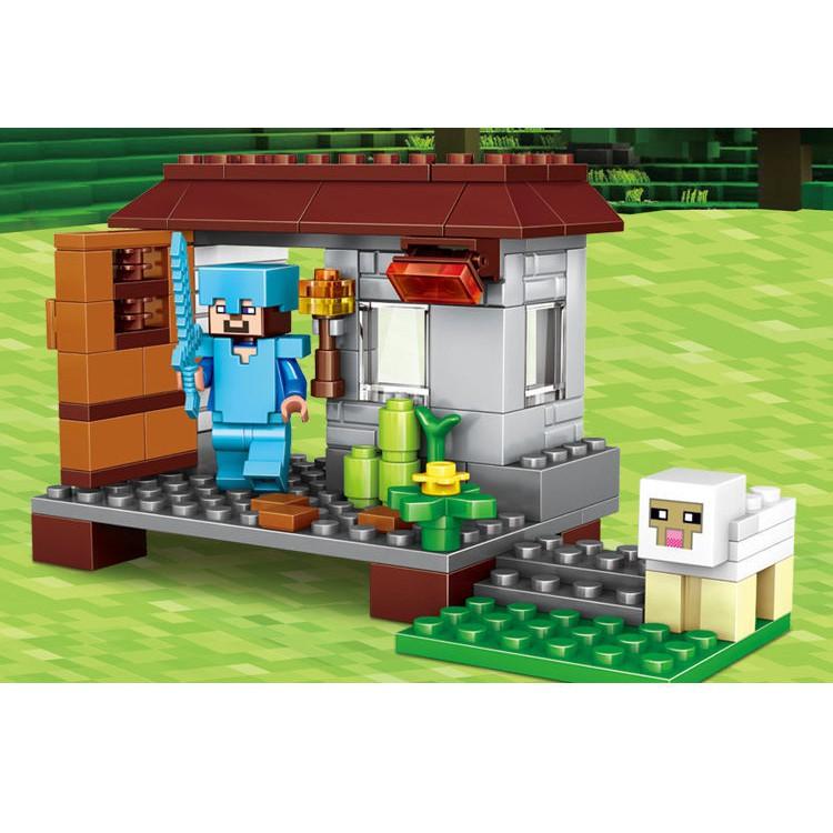 Lego Minecraft - Trang Trại Nhỏ Của Bé [300 CT]
