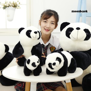 Mback_Cute Panda Stuffed Plush Doll Toy Throw Pillow Kids Girlfriend Gift Home Decor