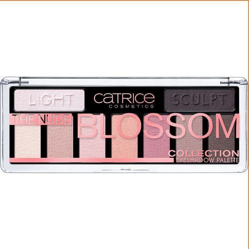 Phấn Mắt 9 Ô Catrice The Nude Blossom Eyeshadow Palette