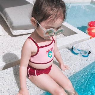Set đồ bơi bé gái - bikini 2 mảnh bé gái siêu hot