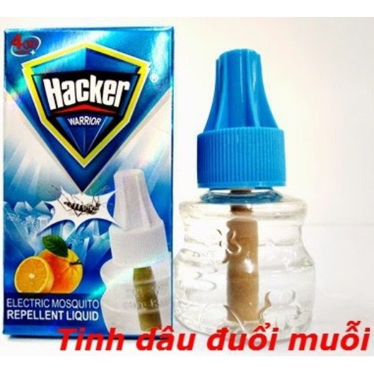 Lọ tinh dầu đuổi muỗi Hacker - 10000574 , 417989387 , 322_417989387 , 49000 , Lo-tinh-dau-duoi-muoi-Hacker-322_417989387 , shopee.vn , Lọ tinh dầu đuổi muỗi Hacker
