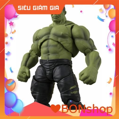 Đồ chơi Hulk Siêu Anh Hùng Avenger Người Khổng Lồ Xanh Bằng Nhựa An Toán Cho Bé