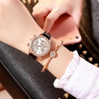Đồng hồ thời trang nữ DZG Mẫu mới AB123
