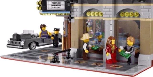 Lego creator expert palace cinema 10232