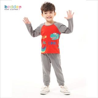 Bộ thu đông cho bé trai mặc nhà Beddep Kids Clothes thumbnail