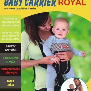 Địu em bé Baby Carrier Royal BC-03 thumbnail