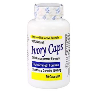 Ivory Caps Pills Viên uống làm trắng da tự nhiên với Glutathione 1500mg, 60 viên 1