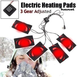 Đệm sưởi ấm mùa đông 5V USB bằng điện tiện dụng
