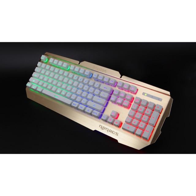 [SALE 10%] Bàn phím có dây, keyboard chuyên game RDRAGS R300 giả cơ có led 7 màu