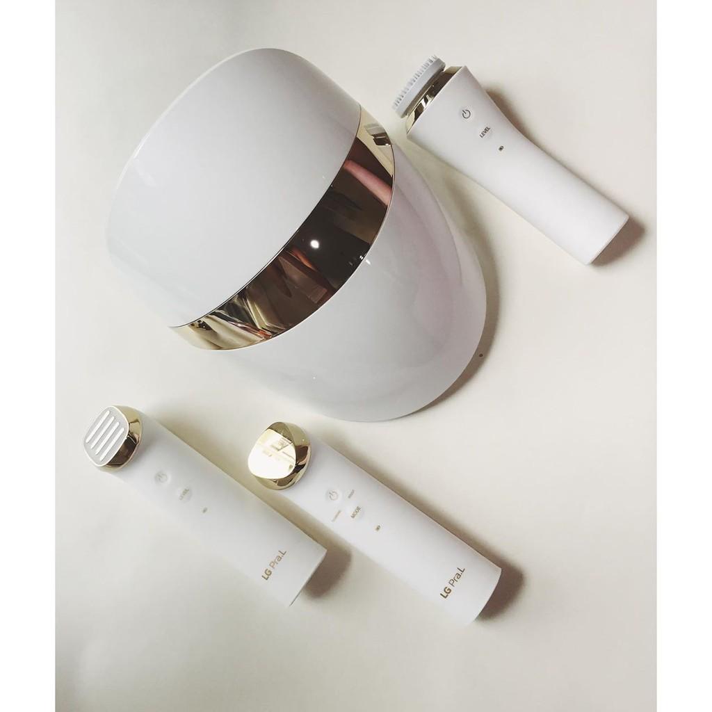 [Mã FMCGM100 - 10% đơn 500K] LG PraL Plus Trọn bộ 4 thiết bị chăm sóc da tại nhà