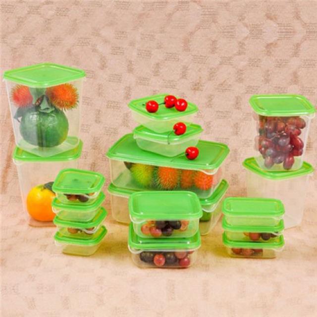 Bộ hộp nhựa đựng thức ăn 17 món tiện dụng - 2599491 , 181158719 , 322_181158719 , 120000 , Bo-hop-nhua-dung-thuc-an-17-mon-tien-dung-322_181158719 , shopee.vn , Bộ hộp nhựa đựng thức ăn 17 món tiện dụng
