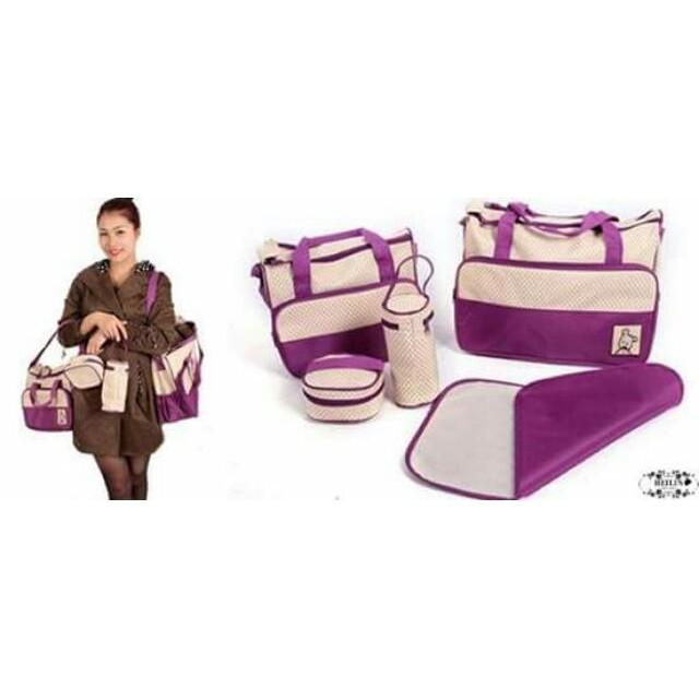 Bộ túi 5 chi tiết cho mẹ và bé tiện dụng - 3446951 , 724708430 , 322_724708430 , 309000 , Bo-tui-5-chi-tiet-cho-me-va-be-tien-dung-322_724708430 , shopee.vn , Bộ túi 5 chi tiết cho mẹ và bé tiện dụng