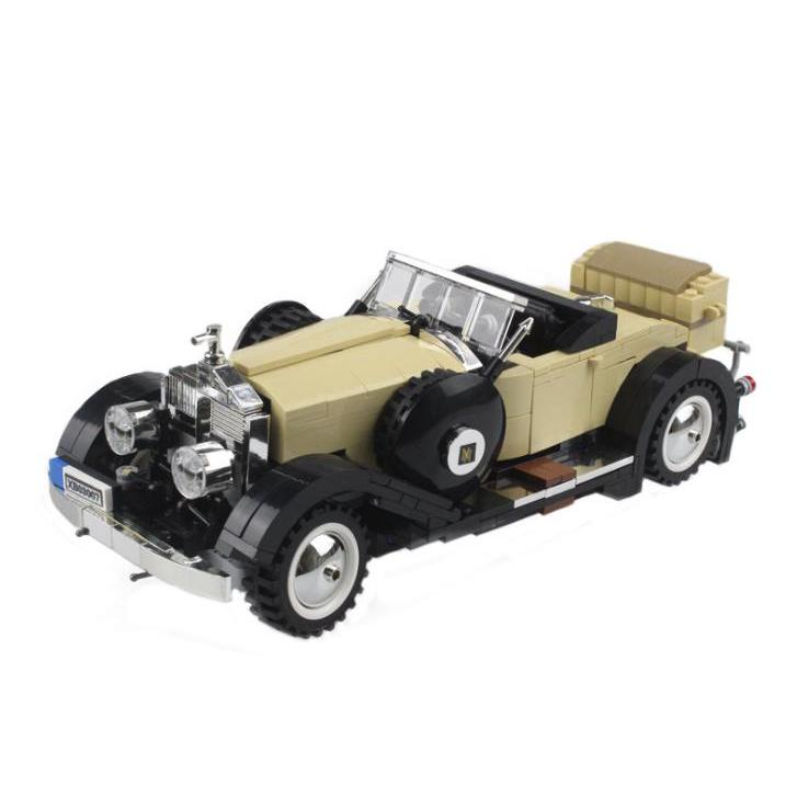 Technic Series The Rolls-Royce Noble Model Building Blocks Toys Lego Compatible