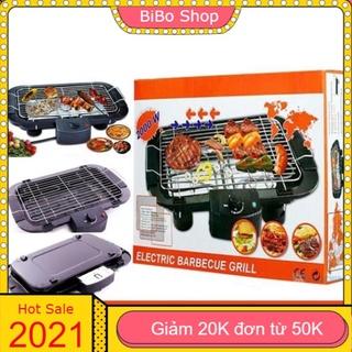 Bếp Nướng 🎁GIẢM 20K ĐƠN 50K 🎁 Bếp Nướng Điện Cao Cấp Electric Barbecue Grill 2000W Không Khói