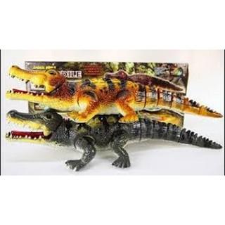 Đồ chơi cá sấu biết đi ( phát nhạc có đèn )