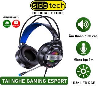 Tai nghe chụp tai gaming chính hãng SIDOTECH YINDIAO Q3 loại tai nghe Over Ear chống ồn có mic cho máy tính bàn laptop thumbnail