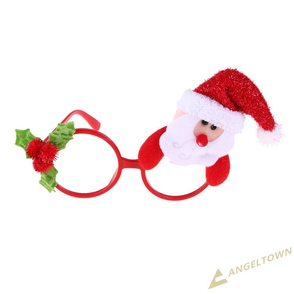 Mắt kính đồ chơi hình ông già Nô en , người tuyết , gấu , người tuyết