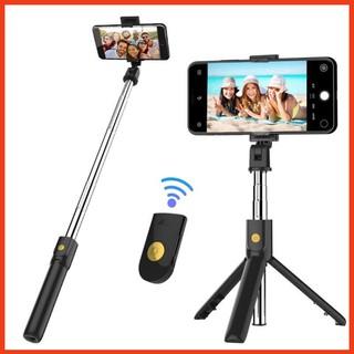 (Giá Tốt Nhất) Gậy Chụp Ảnh selfie K07 Hỗ Trợ Kết Nối bluetooth Không Dây Dành Cho Điện Thoại ( Loại Tốt)