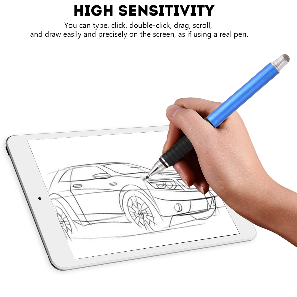 Universal Capacitive Touch Screen Metal Stylus Pen Replacement for iPhone/ iPad Digital Products Giá chỉ 84.000₫