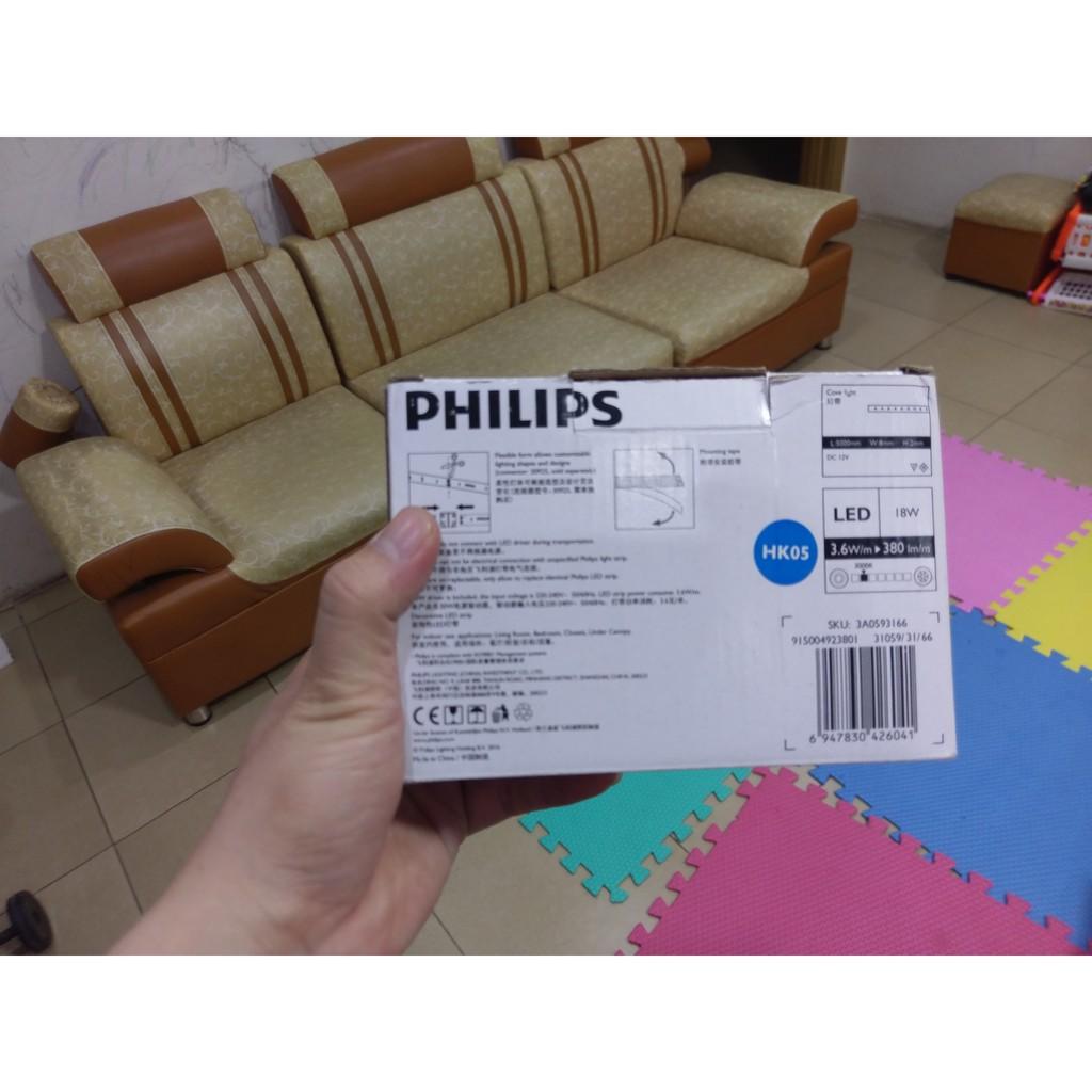 Đèn LED dây Philips 5m 18W DLI 31059 3000K - Ánh sáng vàng ( hàng thanh lý)
