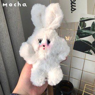 Girl Hearts Foxy Blush Bunny Shy Bunny Mini plush doll Backpack Pendant Keychain