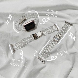 Dây Đồng Hồ / Dây Apple Watch Trong Suốt