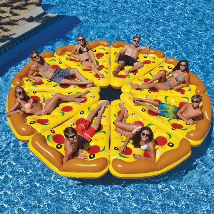 Phao Bơi Hình Bánh Pizza