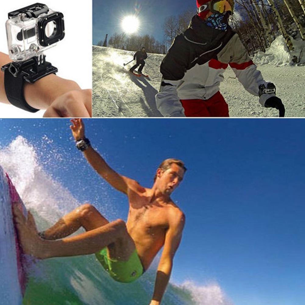 Hero4 3 /SJCAM/YI Waterproof Diving Equipment Camera Mount Silicone Mask Scuba Swimming Sports