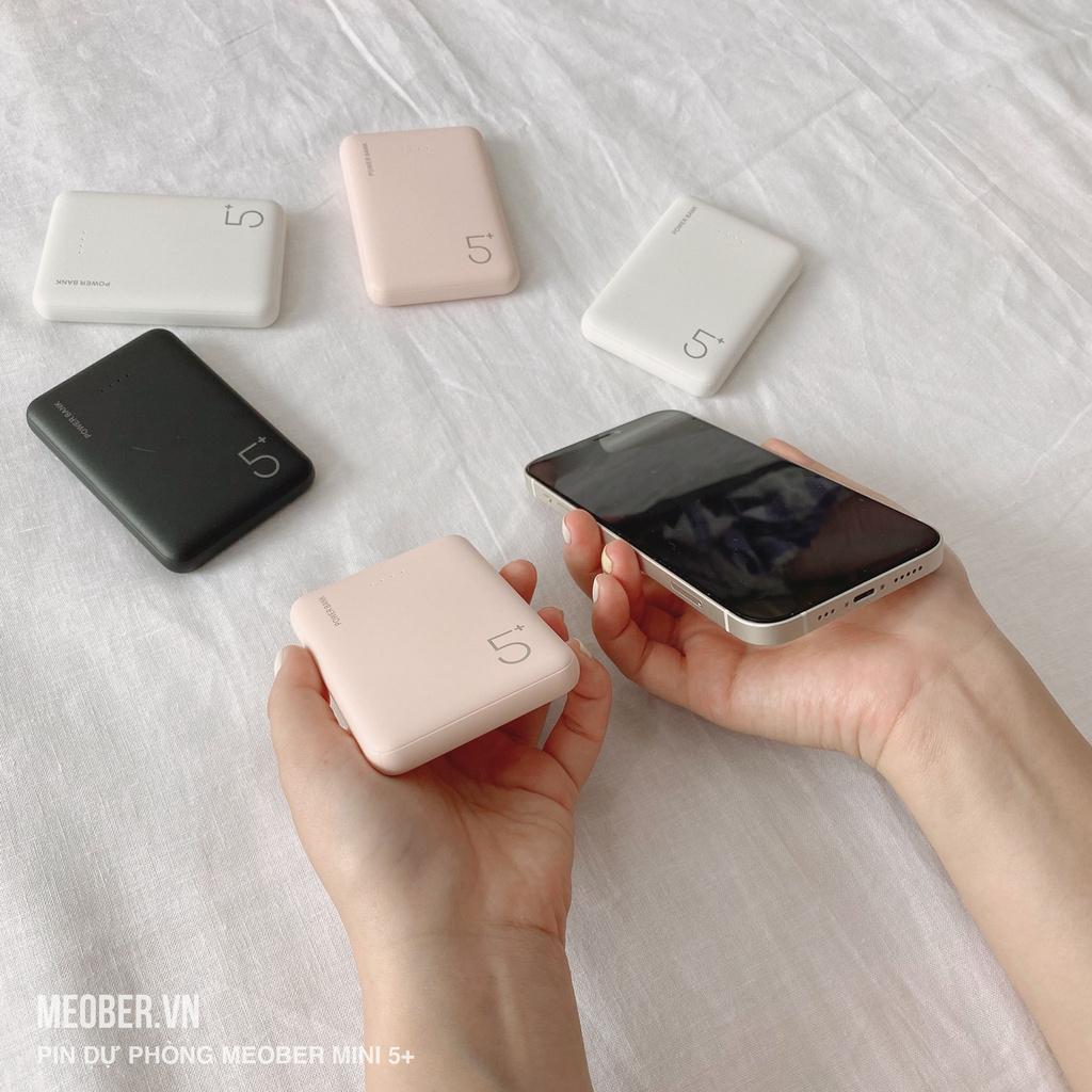 Pin dự phòng Meober Mini 5+ [5000 mAh]