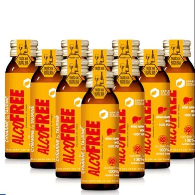 COMBO 20 CHAI Nước Giải Rượu Alcofree CỦA ROHTO