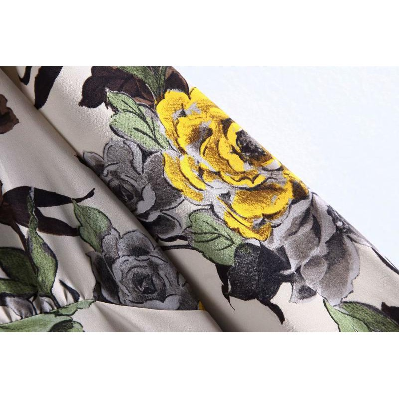 Fashion new large size female growth skirt skirt dress dress girl trade foreign trade women's European and American sty