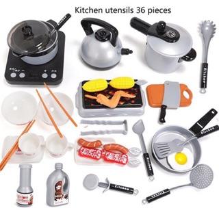 Bộ nấu ăn 36 chi tiết hấp dẫn cho bé