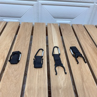 1M33 Móc khóa treo chai nước phụ kiện cắm trại dã ngoại thumbnail