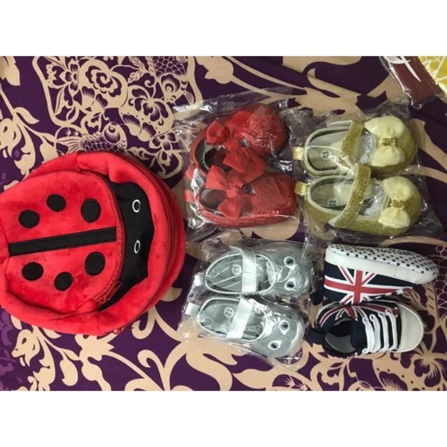 Combo 4 đôi giày size 12 tặng 1 balo - 3445469 , 1281451768 , 322_1281451768 , 240000 , Combo-4-doi-giay-size-12-tang-1-balo-322_1281451768 , shopee.vn , Combo 4 đôi giày size 12 tặng 1 balo