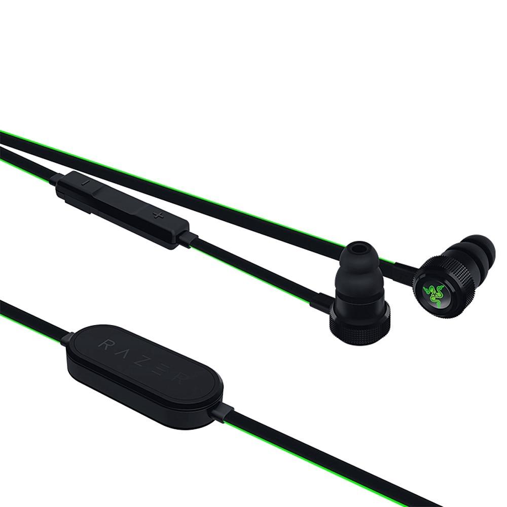 Tai nghe không dây Bluetooth Razer Hammerhead chính hãng với mic từ xa dành cho PC iOS.