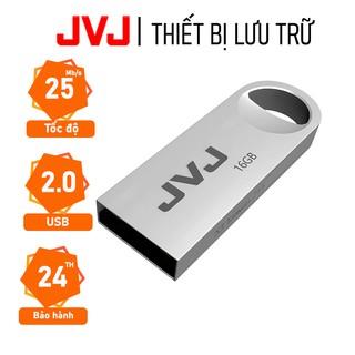 USB 16Gb JVJ S3 siêu nhỏ vỏ kim loại - tốc độ 25MB s Vỏ Kim Loại chống nước ổn định Bảo hành 2 năm chính hãng thumbnail
