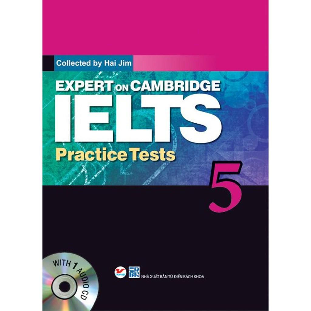 Sách - Expert On Cambridge IELTS Practice Tests 5 (Kèm CD)