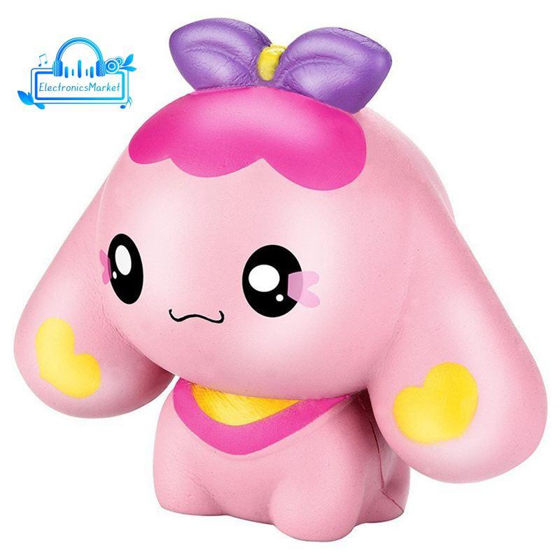 13.5CM Simulation Cartoon Cute Dog Baby Toys Kids Adults Slime Anti-stress Plaything Squishy hàng đẹp