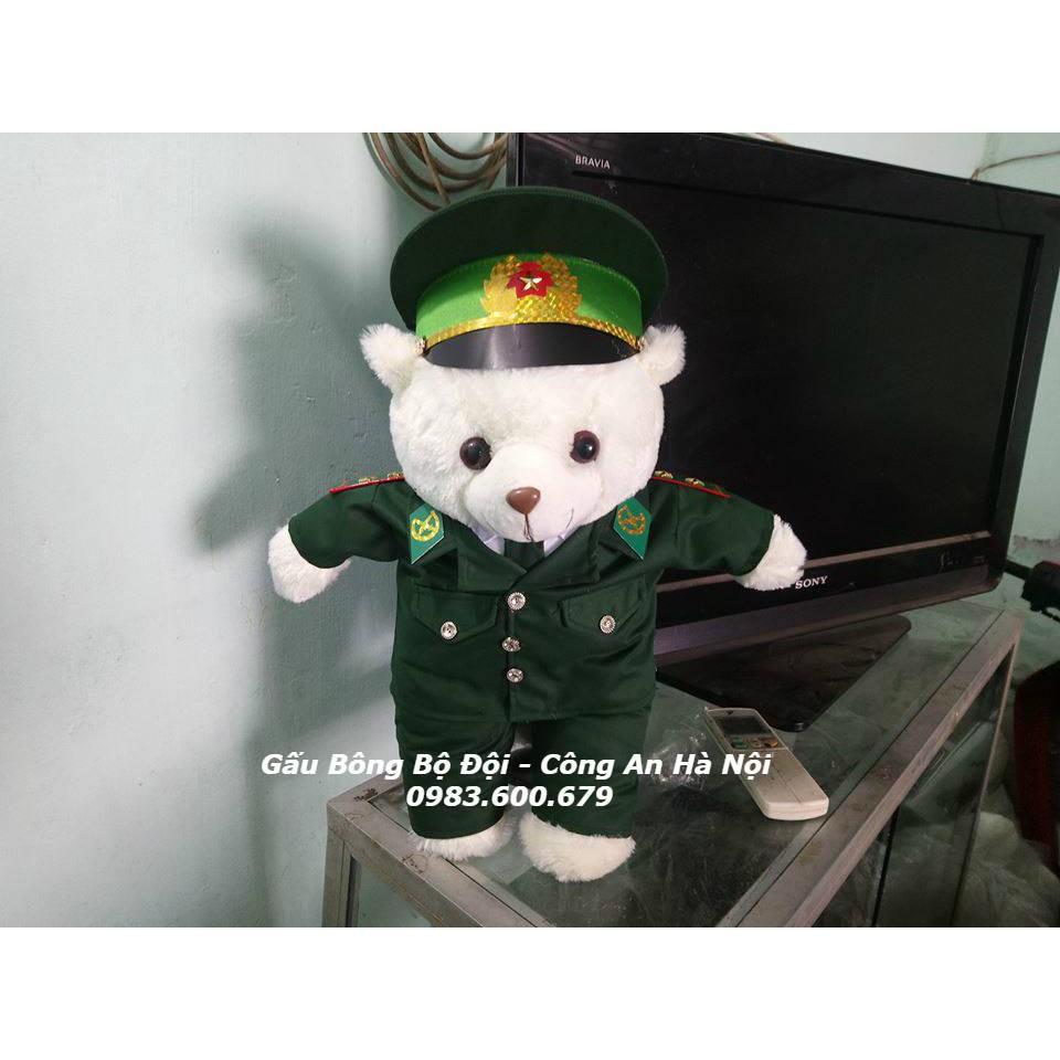 Gấu Bông Bộ Đội Biên Phòng 55 cm