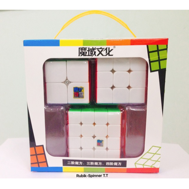 Combo Rubik 2x2 3x3 4x4 - Combo MoFang JiaoShi Gift Box - 3368882 , 875050064 , 322_875050064 , 130000 , Combo-Rubik-2x2-3x3-4x4-Combo-MoFang-JiaoShi-Gift-Box-322_875050064 , shopee.vn , Combo Rubik 2x2 3x3 4x4 - Combo MoFang JiaoShi Gift Box