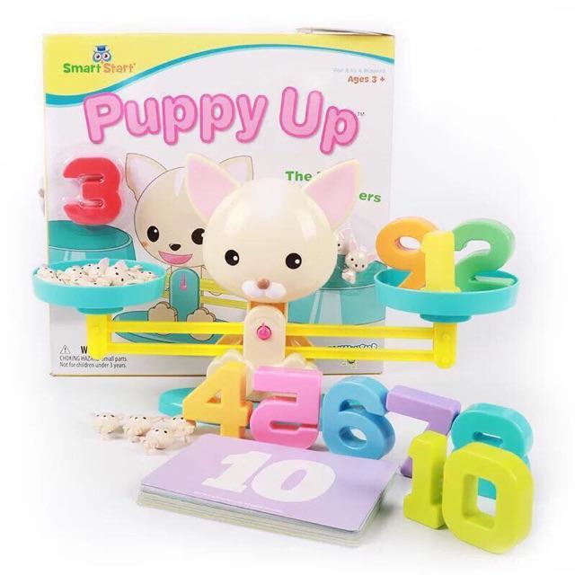 Bàn cân toán học puppy up