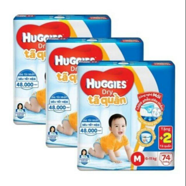 Tã quần huggies m74+2 quần - 2817557 , 934645399 , 322_934645399 , 516000 , Ta-quan-huggies-m742-quan-322_934645399 , shopee.vn , Tã quần huggies m74+2 quần