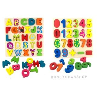 Ráp bảng chữ cái và chữ số cho bé