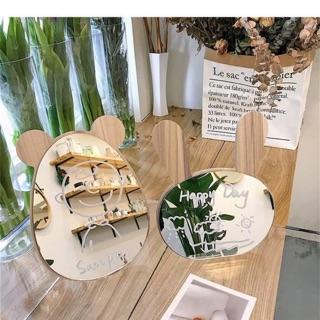 Gương mini thỏ và gấu để bàn : 65k/ chiếc ( tặng kèm 1 bút trắng )