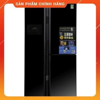 [ FREE SHIP KHU VỰC HÀ NỘI ] Tủ lạnh Hitachi  side by side 2 cửa màu đen R-FS800GPGV2(GBK) - [ Bmart247 ]