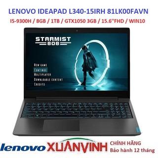 [QUÀ TẶNG] LENOVO IDEAPAD L340-15IRH 81LK00FAVN I5-9300H 8GB 1TB GTX1050 3GB WIN10 MỚI