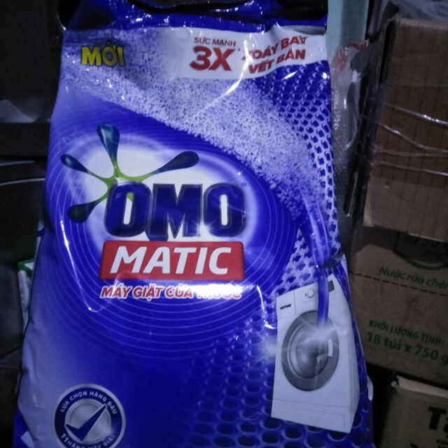 Omo matic máy giặt cửa trước 6kg, giá shop bán chỉ 245k.